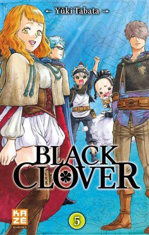 Black Clover - T.05   9782820328229