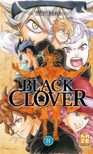 Black Clover - T.08   9782820329042