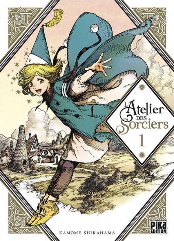 L'Atelier des Sorciers - T.01 | 9782811638771