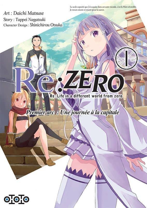 Re:Zero - Arc 1 T.01 | 9782377170067