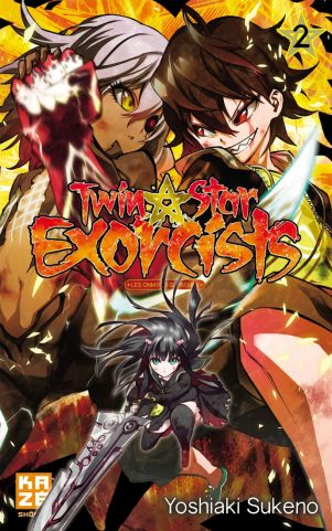 Twin Star Exorcists - T.02   9782820320490
