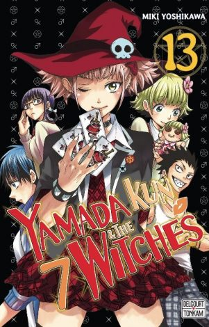 Yamada-Kun and the 7 Witches - .01   9782756095325