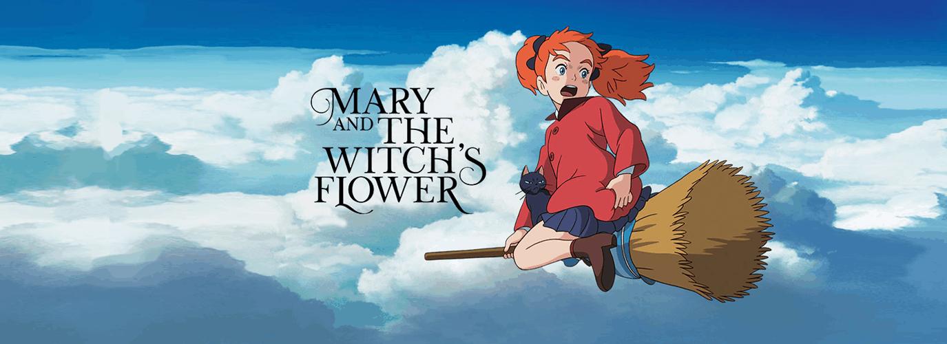 Ciné: Mary & la Fleur de la Sorcière