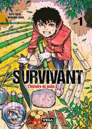 Survivant l'histoire du jeune S  T.01 | 9782379500022