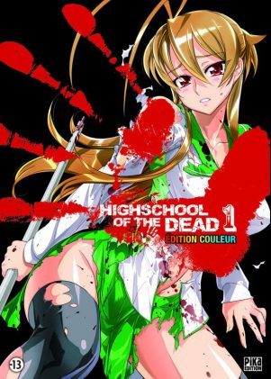 Highschool of the Dead - Ed. Couleur T.01 | 9782811605766
