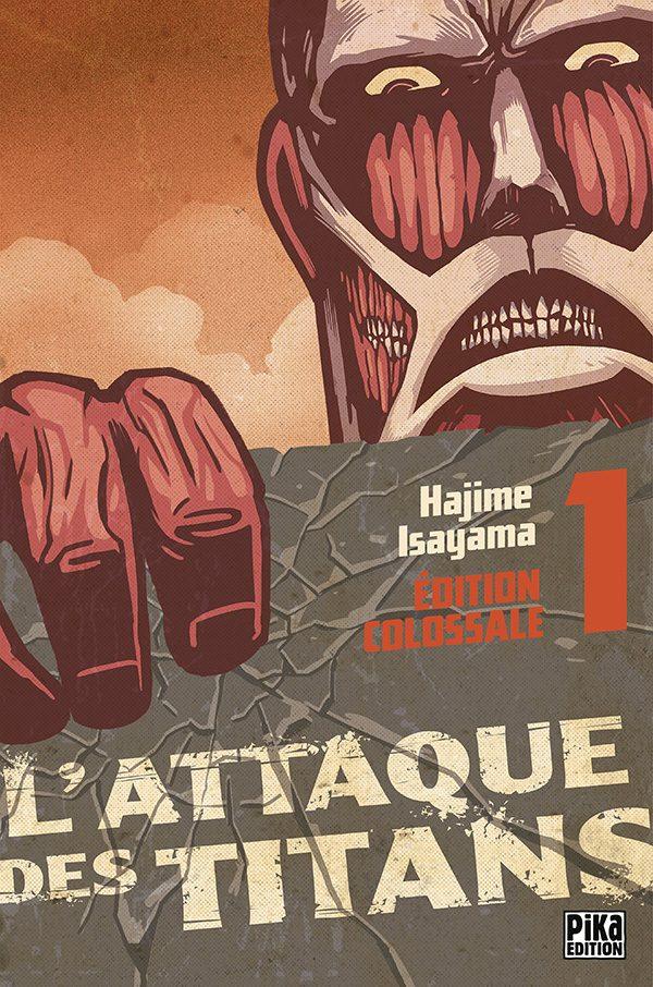 Attaque des Titans (L') - Ed. Colossale T.01 | 9782811623258