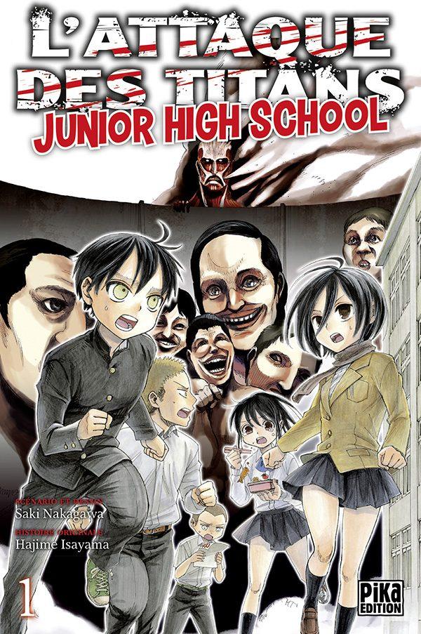 Attaque des Titans - Junior High School  T.01   9782811625245