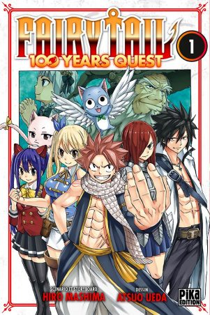 Fairy tail - 100 years quest  T.01 | 9782811647469