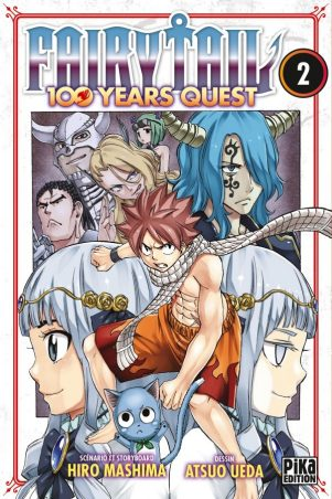 Fairy tail - 100 years quest T.02   9782811648831