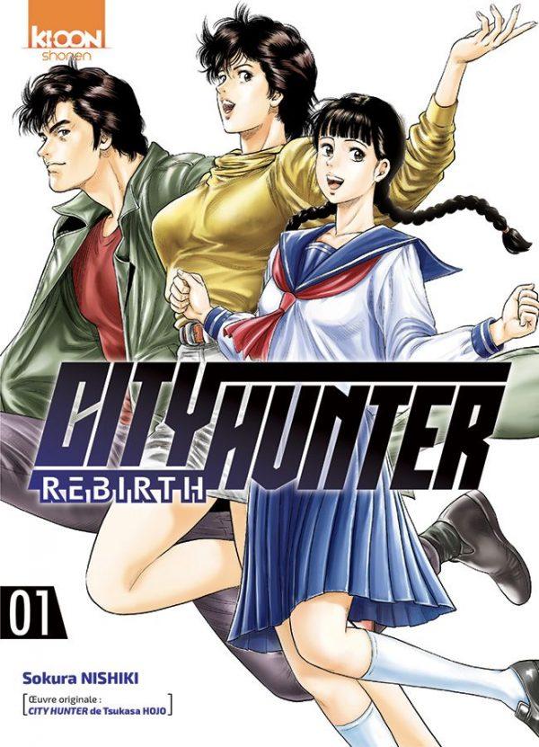 City Hunter - Rebirth  T.01   9791032703823