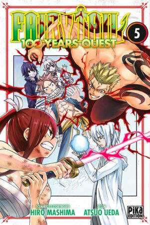 Fairy tail - 100 years quest  T.05   9782811655600