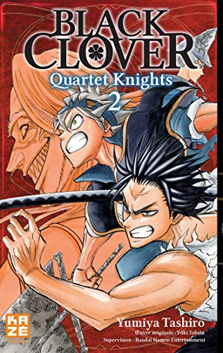 Black Clover - Quartet Knights T.02 | 9782820337627