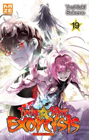 Twin Star Exorcist T.19   9782820338006