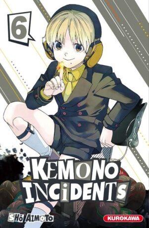 Kemono incidents T.06 | 9782368529065