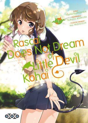 Rascal Does Not Dream of little devil kohai T.01   9782377173099