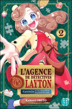 Agence de detectives Layton (L') - Katrielle et les mysterieuses enquetes T.02   9782373494860