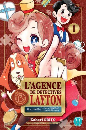 Agence de detectives Layton (L') - Katrielle et les mysterieuses enquetes T.01   9782373494778