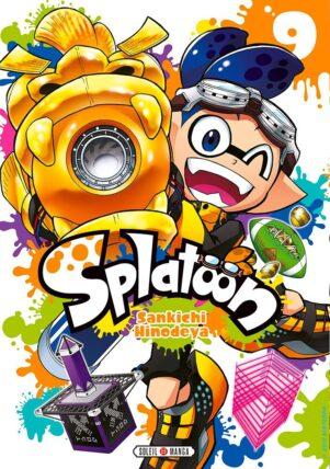 Splatoon T.09   9782302083615