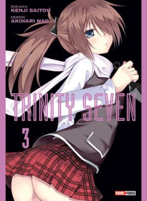 Trinity Seven T.03   9782809486803