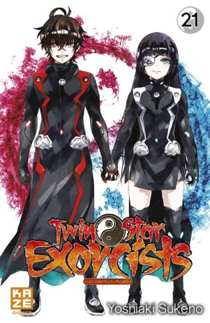 Twin Star Exorcist T.21   9782820338709