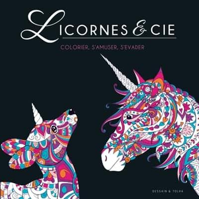 Licornes & cie: colorier, s'amuser, s'évader   9782295012937