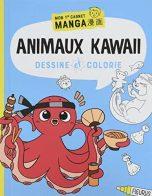 Dessine et colorie: animaux kawaii | 9782215175063