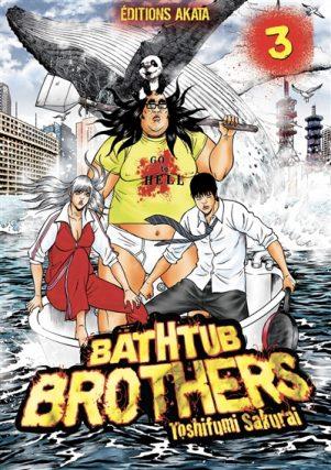 Bathtub Brothers T.03 | 9782369748953