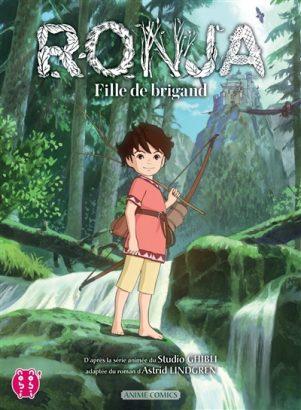 Ronja, fille de brigand - Anime comics   9782373493979