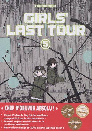 Girls' last tour T.05   9782379890475