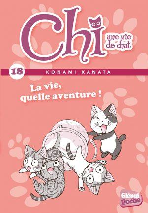 Chi, une vie de chat - Ed. de poche T.18   9782344018439