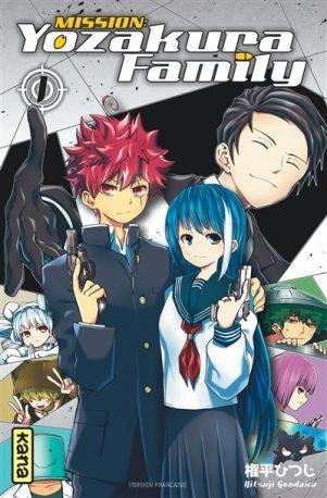 Mission Yozakura family T.01   9782505089964