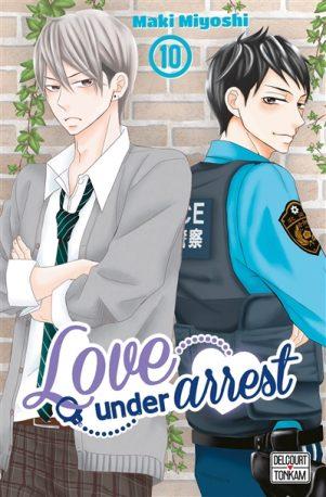 Love under arrest T.10   9782413037804