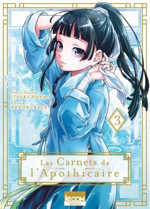 Carnets de l'apothicaire (Les) T.03 | 9791032707975