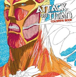 Attack on titan: Coloring book (EN) | 9781632364142