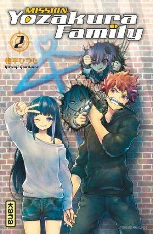 Mission Yozakura family T.02   9782505089971