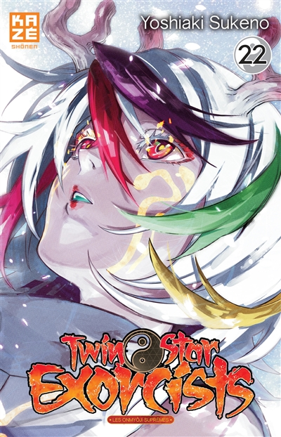 Twin Star Exorcists T.22   9782820340757