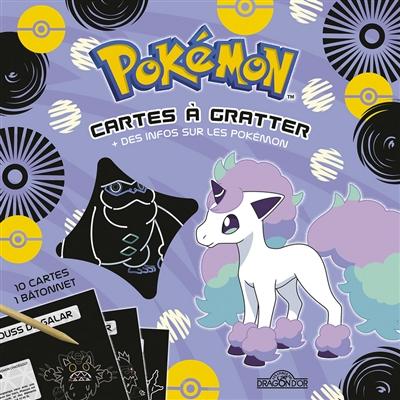 Pokemon - Cartes a gratter Aloha   9782821213708