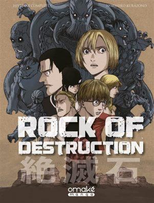 Rock of destruction   9782379890796