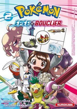 Pokemon - Epee et bouclier T.02   9782380711530