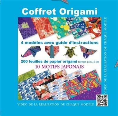 Coffret origami: 10 motifs japonais   9782889357758