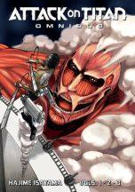 Attack on titan - omnibus ed. (EN) T.01 | 9781646513741