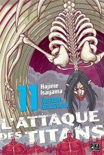 Attaque des Titans (L') - Ed. Colossale T.11   9782811664626