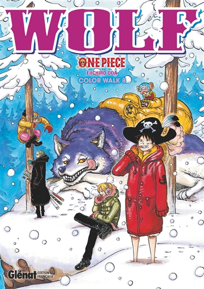 One Piece - Color Walk T.08 - Wolf   9782344035559
