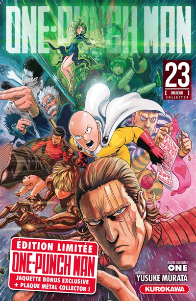 One Punch Man T.23 - Ed. Collector   9782380712391