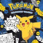 Pokemon - Coloriages velours | 9782821210226