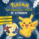 Pokemon - Mon cherche et trouve a creer Pikachu | 9782821210523