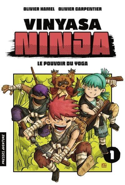 Vinyasa Ninja T.01   9782897518356