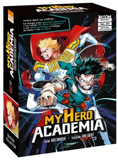 My Hero Academia T.30 - Ed. Collector + LN T.05   9791032708293